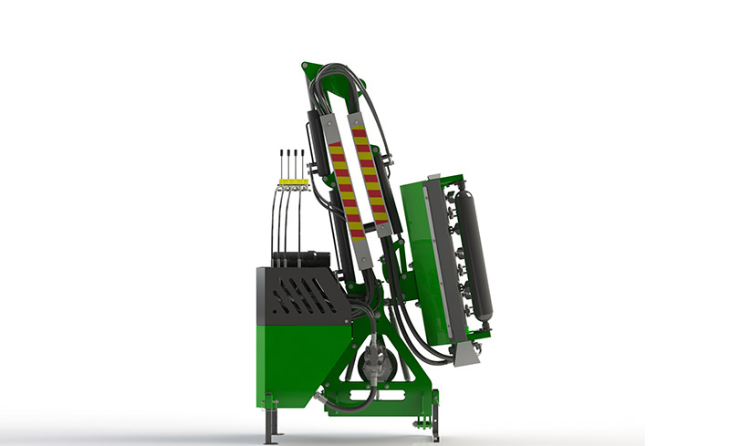 Hedge Trimmer Compact Tractor Attachment