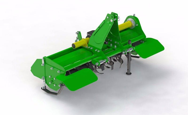 Rotavator Compact Tractor Attachment
