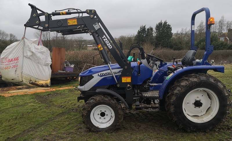 Compact Tractor Front Loader