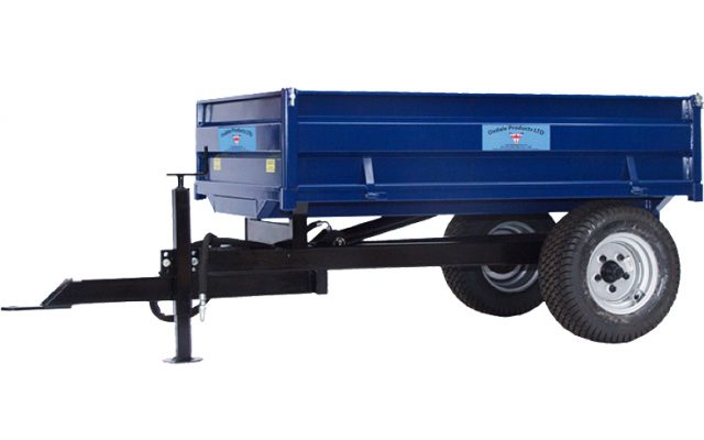 Compact Tractor Tipping Trailer